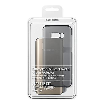 Samsung Starter Kit EB-WG95EBBEG power Bank 5,200 with cover and screen protector for Samsung Galaxy S8 +