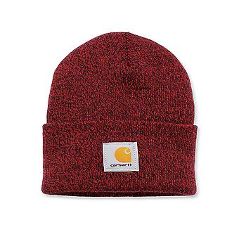 Carhartt Acrylic Watch Cap - Red/Navy Iconic Watch Hat Ski Hat