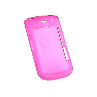 Verizon Snap-On Hard Case for BlackBerry Bold 9650, Tour 9630 (Translucent Pink)