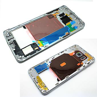 Middle Frame / Chassis for Samsung S6 Edge Plus - Silver