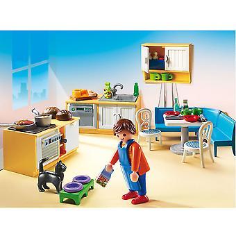 Playmobil Dollhouse Country Kitchen