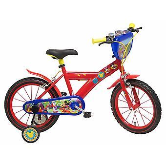 Cykel diameter 16 Mickey Mouse