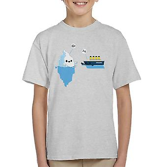 Titanic Rock Paper Scissors Kinder T-Shirt