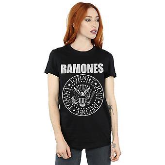 Sigillo presidenziale Boyfriend Fit t-shirt Ramones femminile