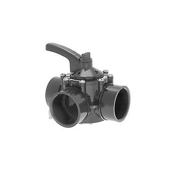 "Hayward PSV3S 1,5 ""3-vägs CPVC ventil"