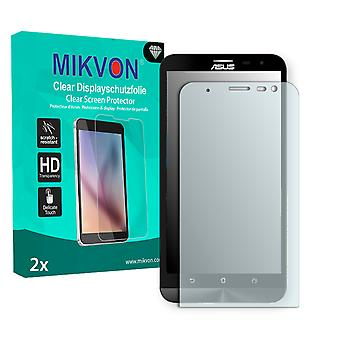 Asus ZenFone 2 Laser (ZE601KL) Screen Protector - Mikvon Clear (Retail Package with accessories)