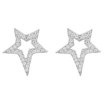 Latelita 925 Sterling Silver Earrings sterren Stud Rosegold goud CZ Sparkly kleine