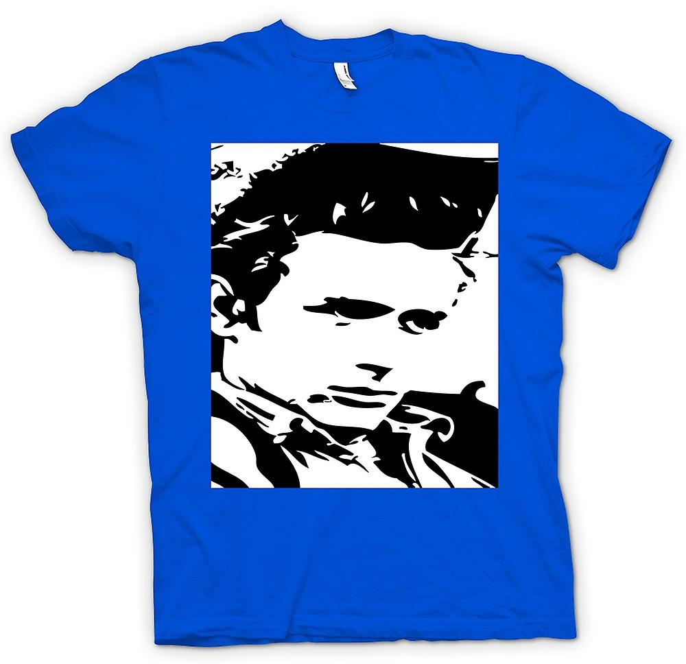 Mens T-shirt - James Dean Retrato - Icon - BW