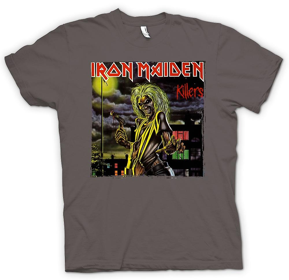 Womens T-shirt - Iron Maiden - Killers albumkunst