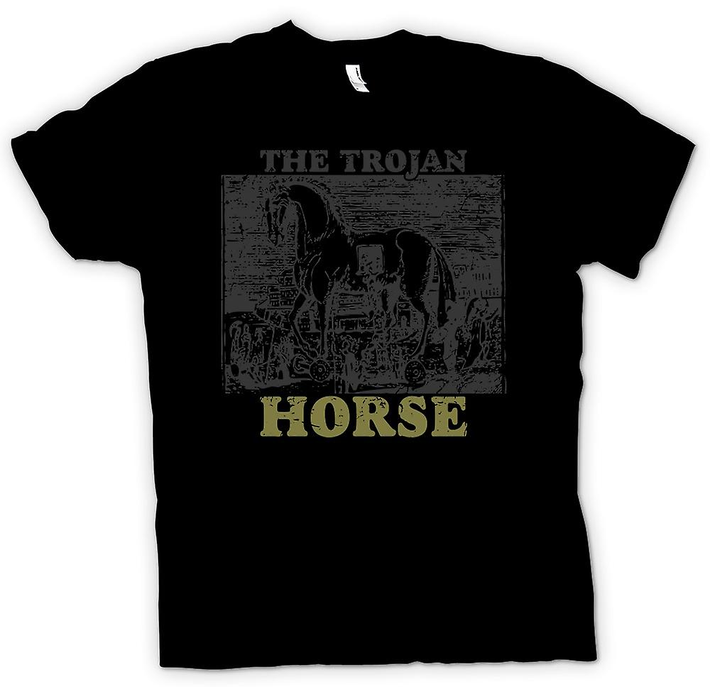Womens T-shirt - le cheval de Troie - Troy