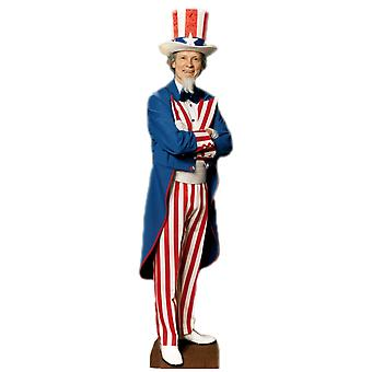 Uncle Sam (Party Prop) - Lifesize Cardboard Cutout / Standee