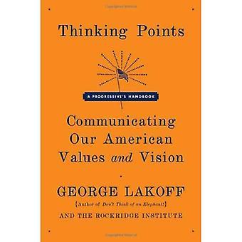 Denken Punkte: Kommunikation, unsere amerikanische Werte und unsere Vision: eine Progressive Handbuch