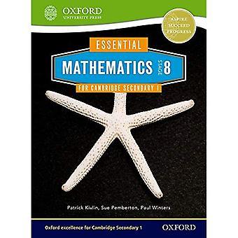 Matematik för Cambridge sekundära 1 etapp 8 elev bok (grundläggande matematik för Cambridge)