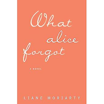 What Alice Forgot (Thorndike Press Large Print Core Series)