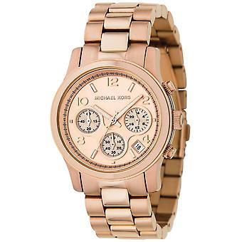 Michael Kors Runway kronograf Gold Wrist Watch MK5128