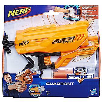 Nerf E0012EU4 Accustrike Quadrant Toy, Multi-Colour