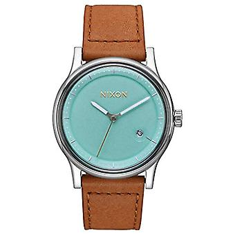 Nixon Analog quartz men's watch with leather A1161-2534-00