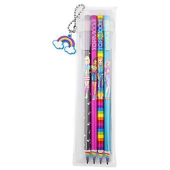 Depesche TOPModel Rainbow 6402 potloden, Set van 4