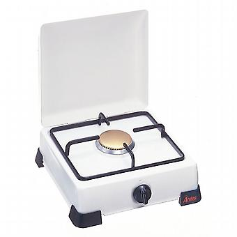 LPG gas stove. Steel Grill