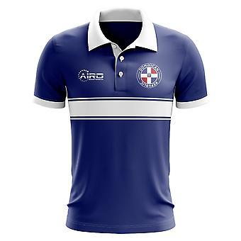 Dominikana koncepcja koszula Polo z paskiem (niebieski)