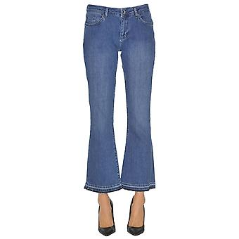7 For All Mankind Light Blue Cotton Jeans