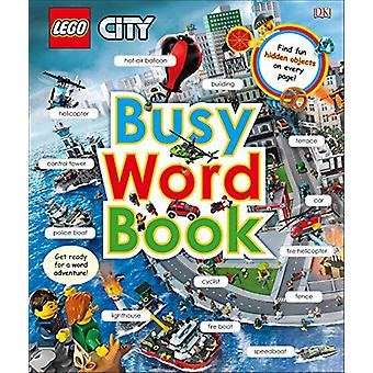 Lego City - Busy Word Book by DK - 9781465466273 Book