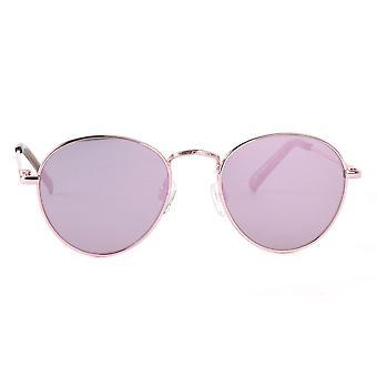 Le Specs  Zephyr Deux Rose Gold Sunglasses