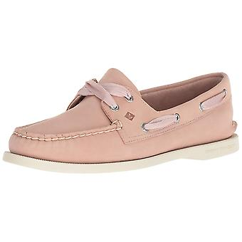 SPERRY Women's A/O Satin Lace Boat Shoe