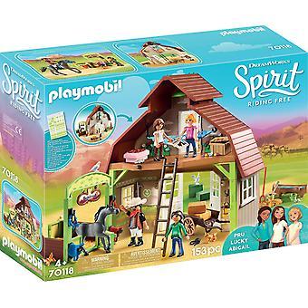 Playmobil DreamWorks Spirit 70118 Barn