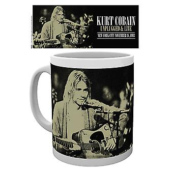 Kurt Cobain Unplugged bere Boxed Mug