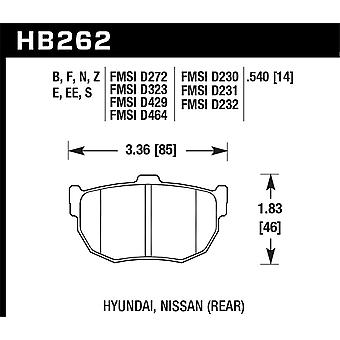 Hawk performance HB262N. 540 pk plus