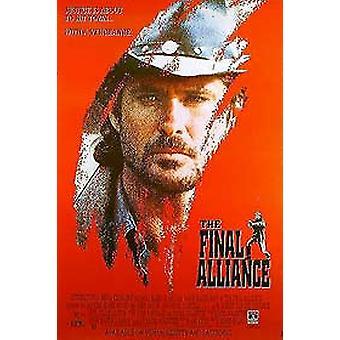 Die endgültige Allianz (einseitiges Video) Original Video/Dvd Ad Poster