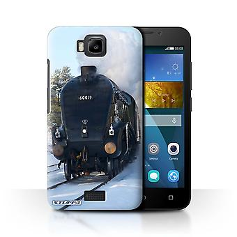 STUFF4 Case/Cover for Huawei Honor Bee/Y5c/Bittern/Snow/Steam Locomotive
