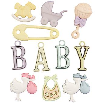 Button Theme Pack-Oh Baby BTP-4427