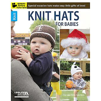 Leisure Arts Knit Hats For Babies La 6192