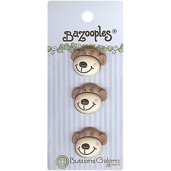 Bazooples Buttons Max The Monkey Bz 124
