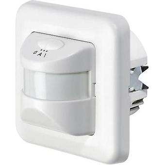 Flush mount PIR motion detector GEV 001237 195 ° Triac White IP20