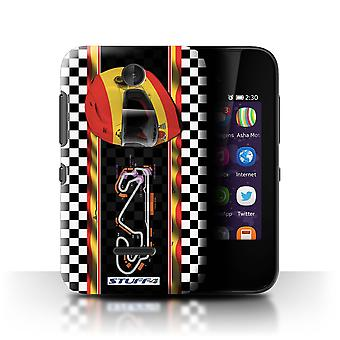 STUFF4 Case/Cover for Nokia Asha 230/Spain/Catalunya/F1 Track Flag