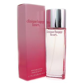Clinique Happy Heart Women 1.7 oz Perfume Spray