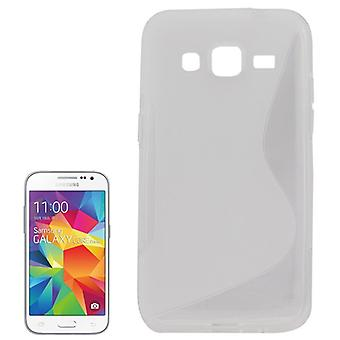 Mobile case TPU case for Samsung Galaxy core Prime transparent