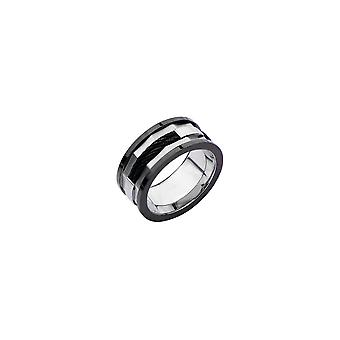 Anillo de acero inoxidable Herrel con cable, IP negro