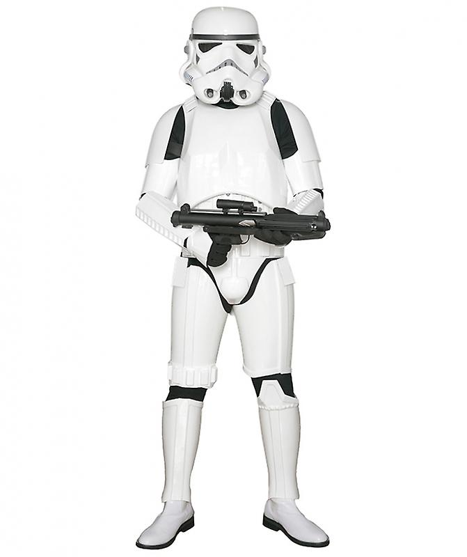 Star Wars Stormtrooper Costume Armour with Accessories and Ready to Wear - Original Replica - A New Hope - XL EXTENDED SIZE