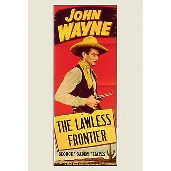 La frontiera senza legge Movie Poster stampa (27 x 40)