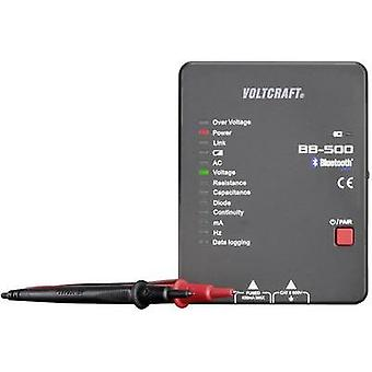 Handheld multimeter VOLTCRAFT BB-500 Calibrated to: Manufacturer standards Data logger CAT II 600 V Display (counts): 4