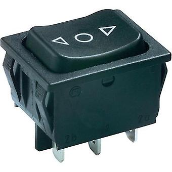 Toggle switch 250 Vac 6 A 2 x (On)/Off/(On) Marquardt 1839.1407 IP40 momentary/0/momentary 1 pc(s)