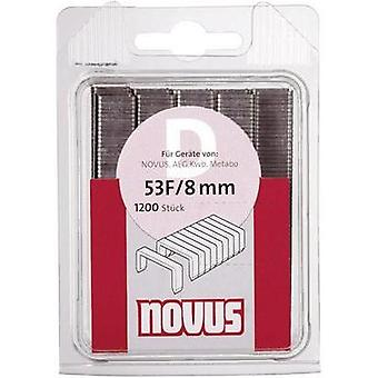 Flat wire staple G 11/8 (1200 St) 10.6 mm 8 mm 1200 pc(s) Novus 042-0385