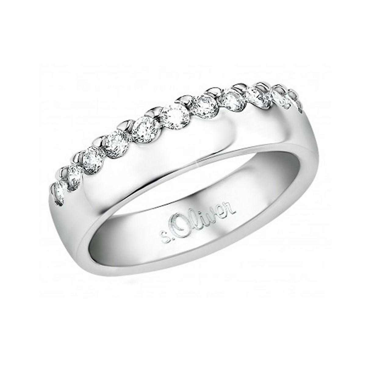 s.Oliver Jewel ladies ring silver Zirkonia SO809
