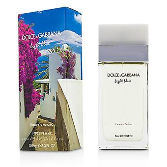 Dolce & Gabbana Light Blue ontsnappen naar Panarea Eau De Toilette Spray (Limited Edition) 100ml / 3.3 oz