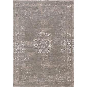 Contemporary Natural Classic Medallion Rug - Louis De Poortere