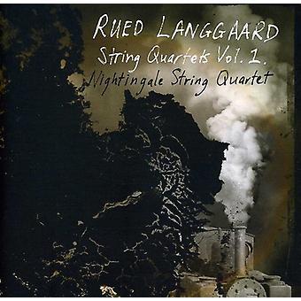 R. Langgaard - Rued Langgaard: Strygekvartetter Vol. 1 [SACD] USA import